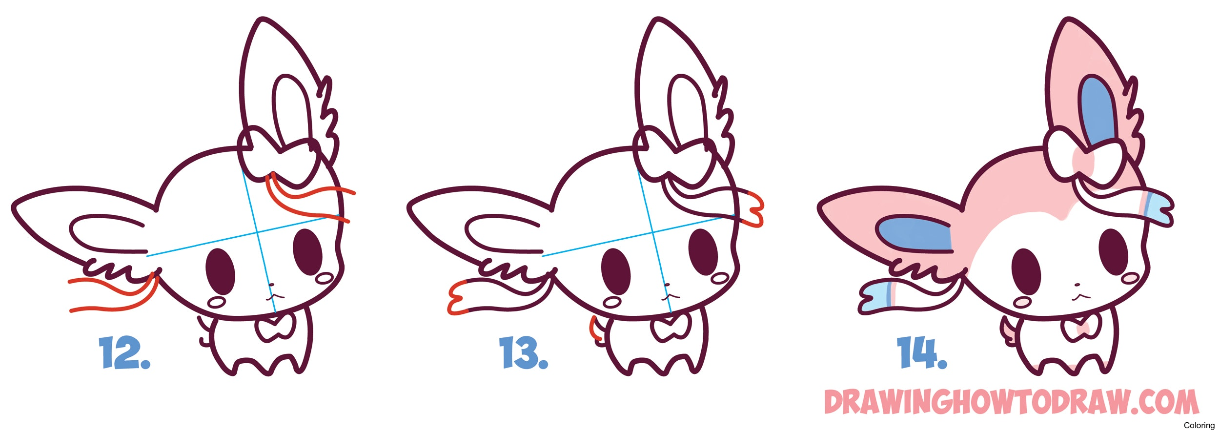 2500x887 How To Draw A Pokeball From Pokemon Easy Step By Drawing Coloring