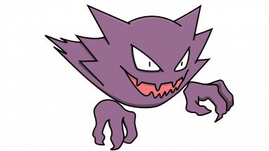 382x215 How To Draw Haunter, Pokemon, Anime, Easy Step By Step Drawing