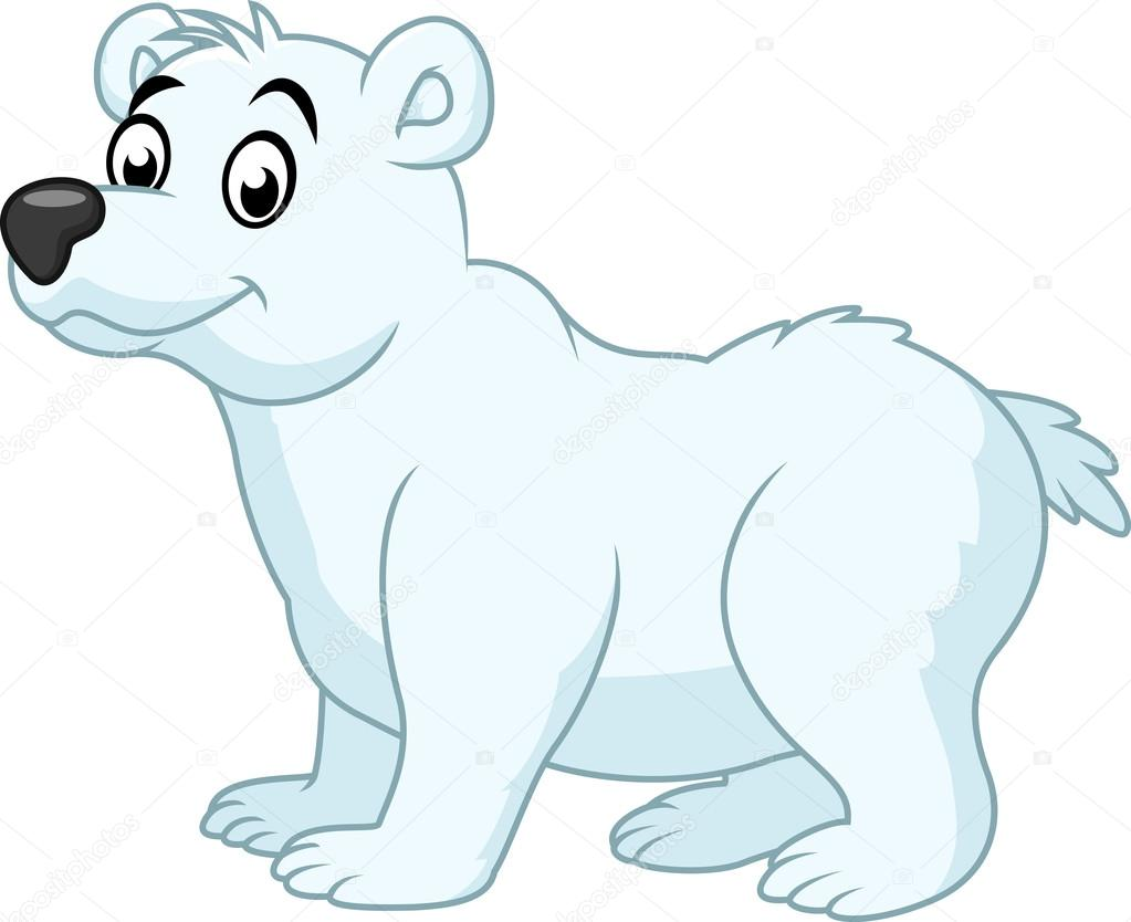 1023x834 Polar Bear Cartoon Stock Vector Dreamcreation01