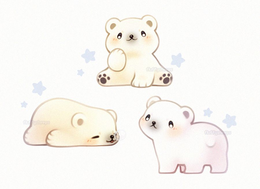 900x653 Polar Bears Cuties Polar Bear, Bears And Kawaii