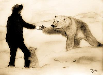 400x293 My Drawing Of An Polar Bear