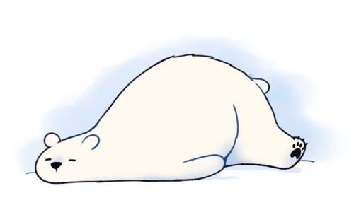 500x297 Polar Bear Drawing Tumblr