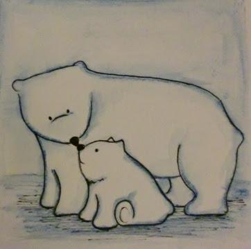 362x359 Cute Drawing Of Little Polar Bears Katie's Arty Crafty Blog