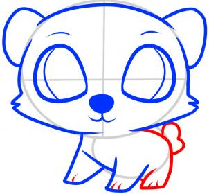 302x280 How To Draw How To Draw A Polar Bear For Kids