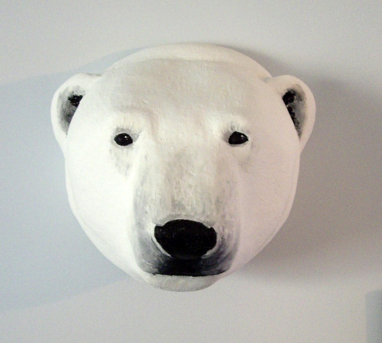 1318x1186 A Can Of Crafty Curiosities A Polar Bear Trophy Head Why Not