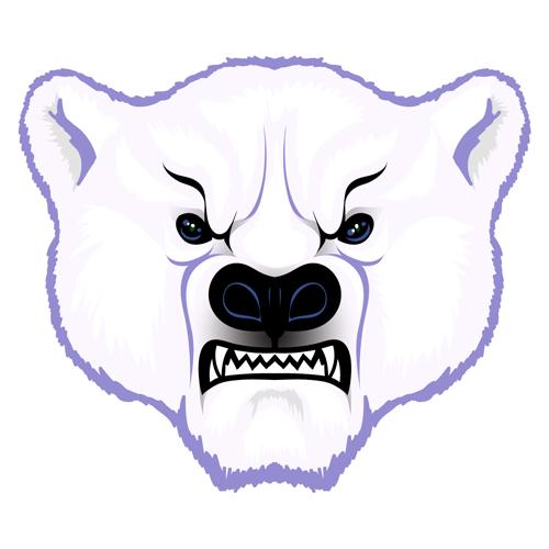 500x500 Polar Bear Head (Mr T Silappathikaram)