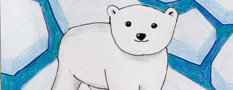 788x307 The Loneliest Polar Bear