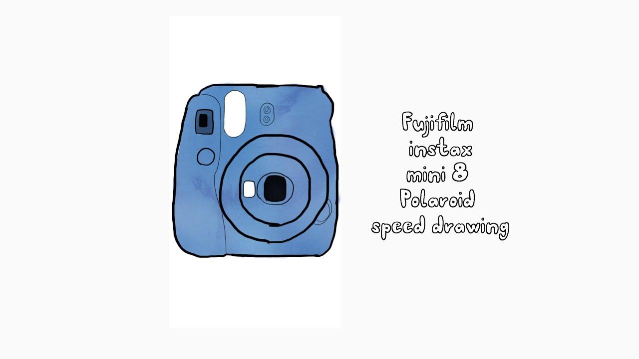 1280x720 Speed Drawing Polaroid Camera