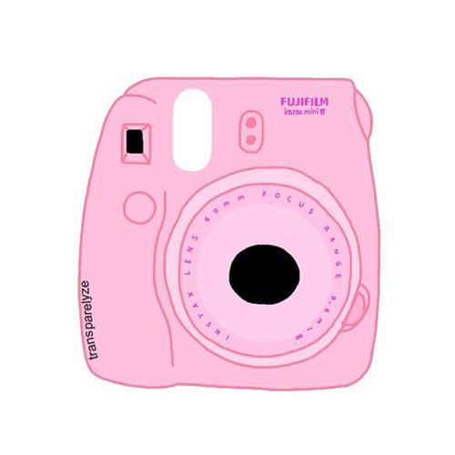 500x500 Pink Rose Instax Mini 8 Tumblr Transparent Drawing