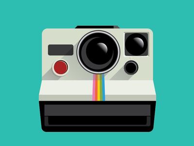 400x300 Polaroid Camera By Maria Leonor Nogueira