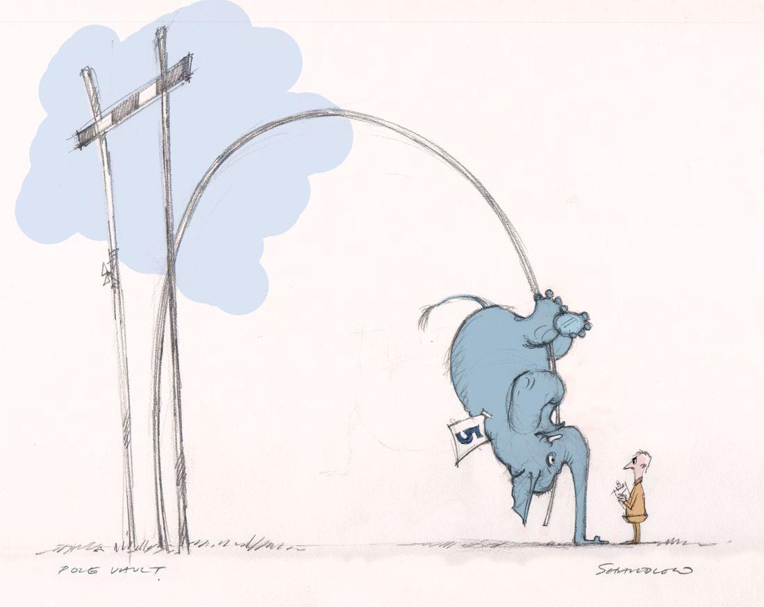 1100x875 Haha Elephant Pole Vaulting For A Tattoo Wants