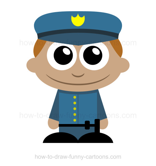 500x534 To Draw A Policeman