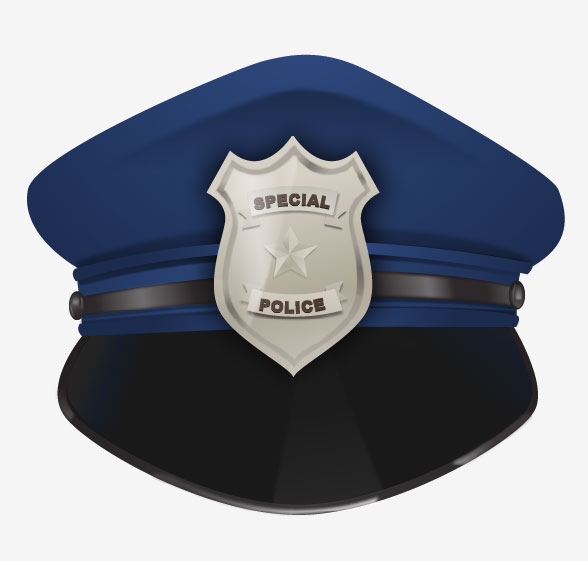588x561 How To Design A Police Hat In Adobe Illustrator