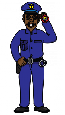 215x382 How To Draw A Policeman For Kids, Cartoons, , Easy Step By Step