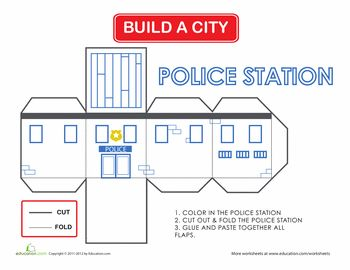 350x270 Build A City Police Station Police Station, Police And Cities