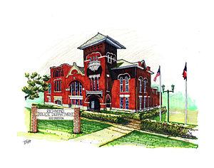 300x236 Police Station Drawings Fine Art America