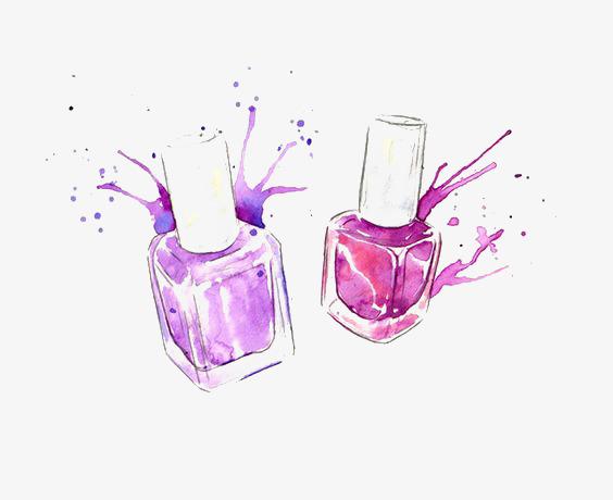 564x460 Drawing Nail Polish, Nail Polish, Cosmetic, Nail Png Image