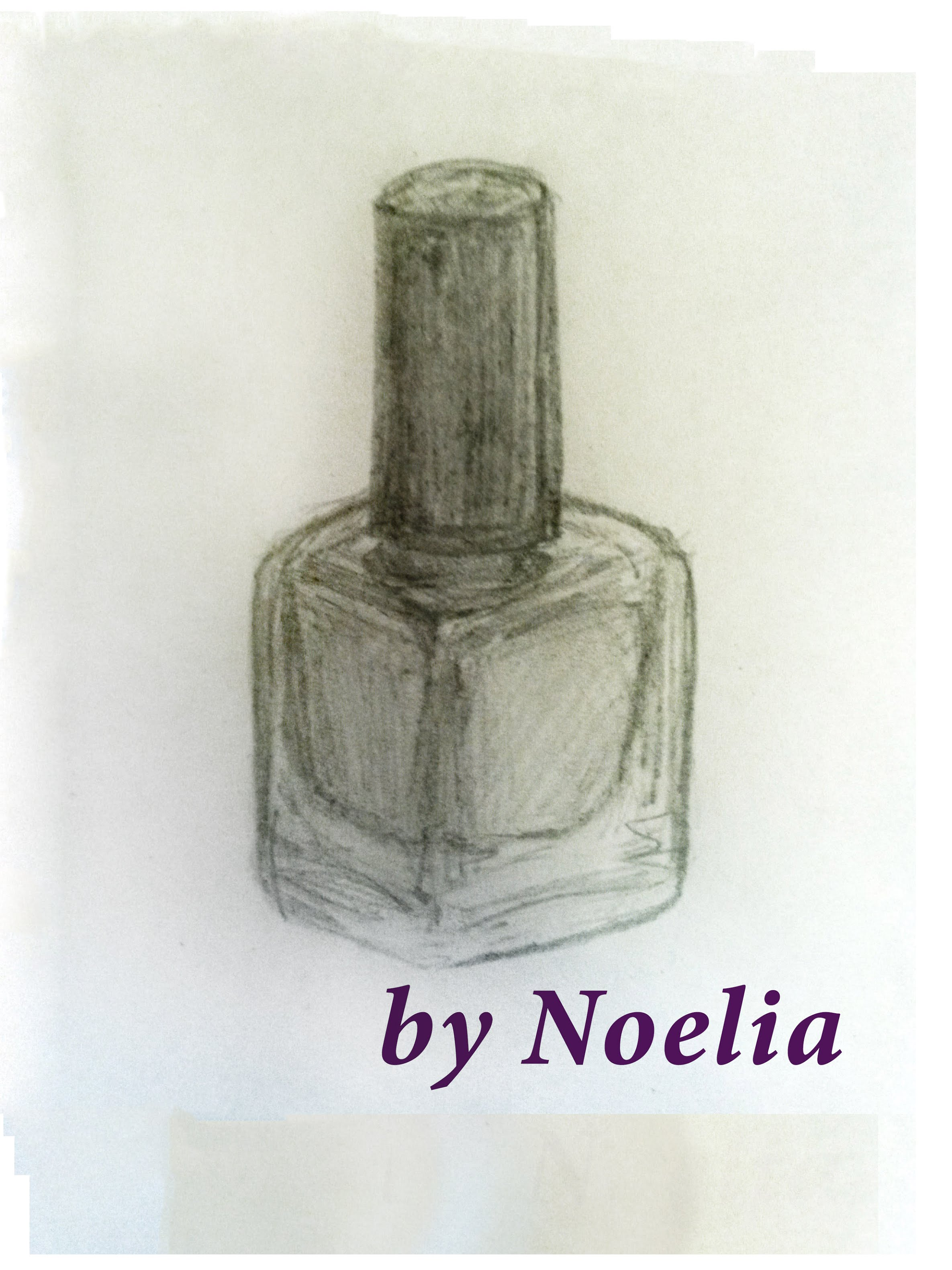 2370x3160 How To Draw A Nail Polish In A Bottle