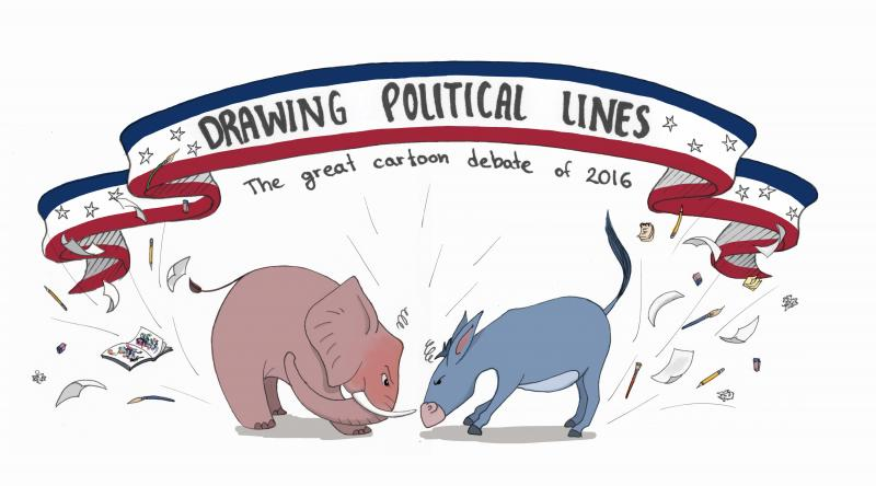 800x444 Drawing Political Lines The Great Cartoon Debate Of 2016