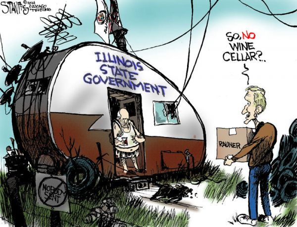 600x459 Political Cartoonists Share Details Of Drawing Illinois