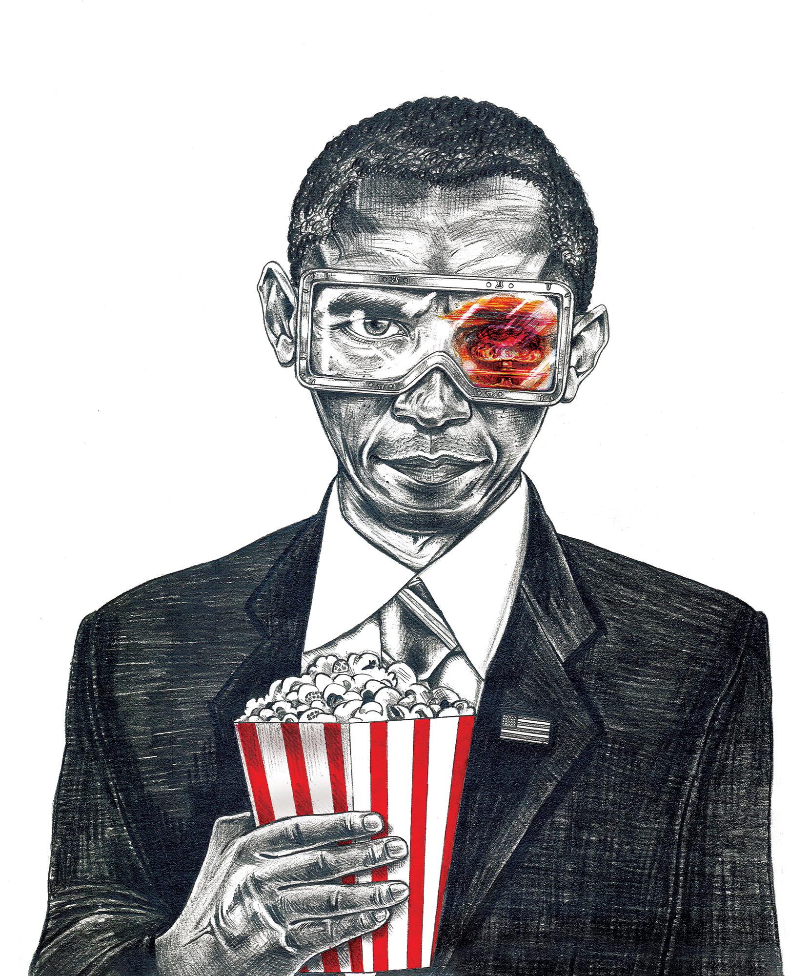 1619x2000 Political Drawing (Obama) Art + Illustration + Design