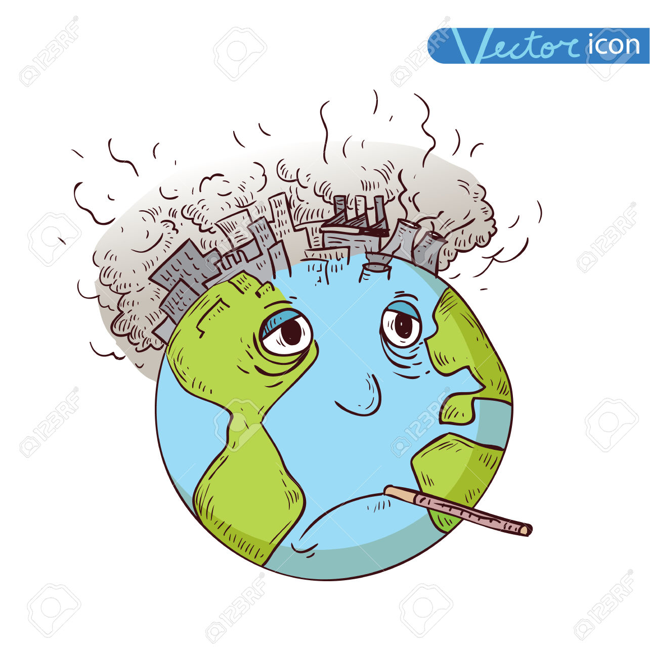1285x1300 Soil Pollution Chart Drawing In Cartoon Pollution Clipart Earth