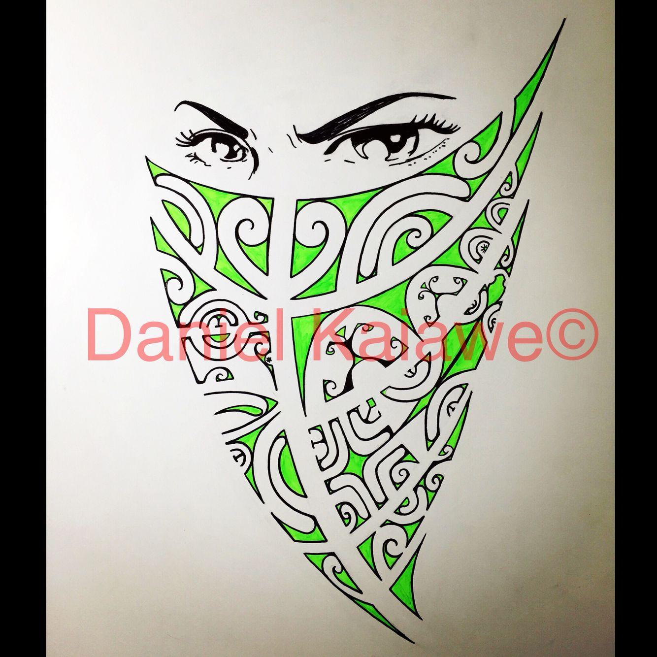 1334x1334 Green Polynesian Tattoo Drawing 2 Tattoo Drawings