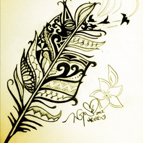 500x500 Polynesian Drawing Discovered By Patty On We Heart It