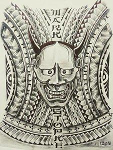 226x300 Polynesian Drawings