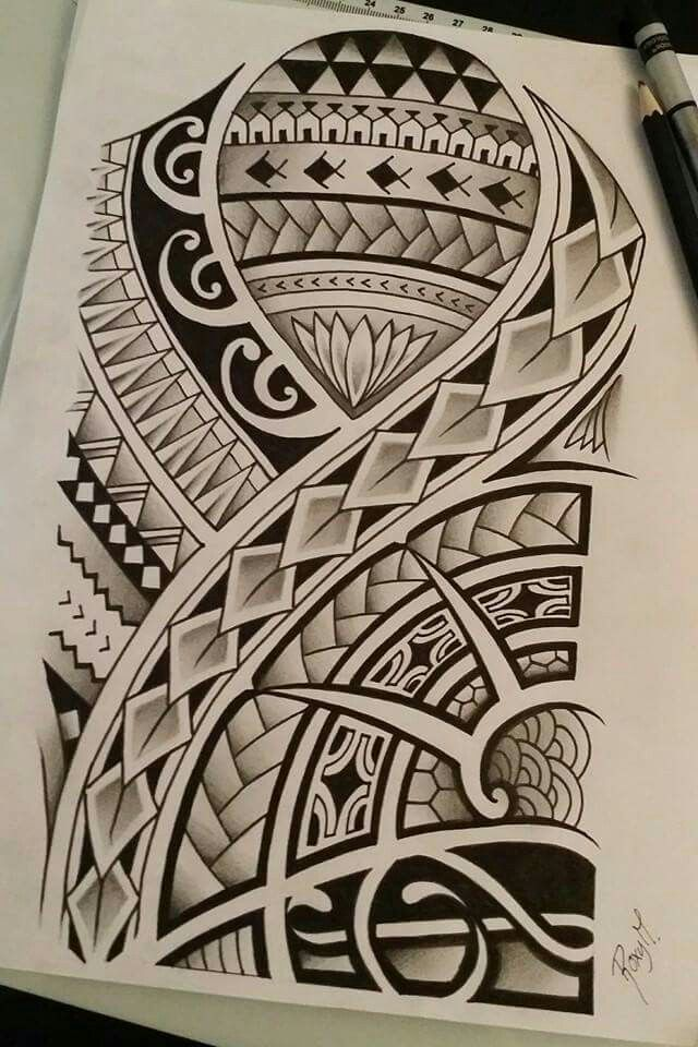 640x960 Polynesian Drawing I Made For A Contest Art Maori