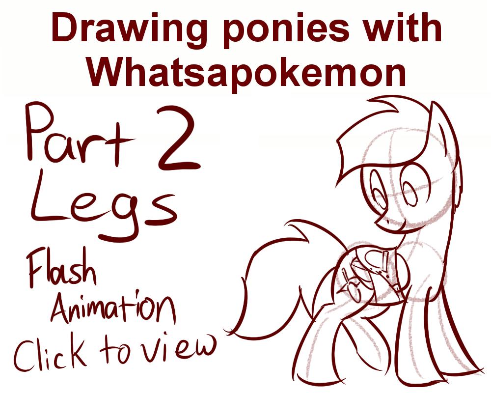 1000x800 Drawing Ponies With Whatsapokemon, Legs By Whatsapokemon