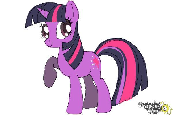 600x400 How To Draw My Little Pony Step By Step