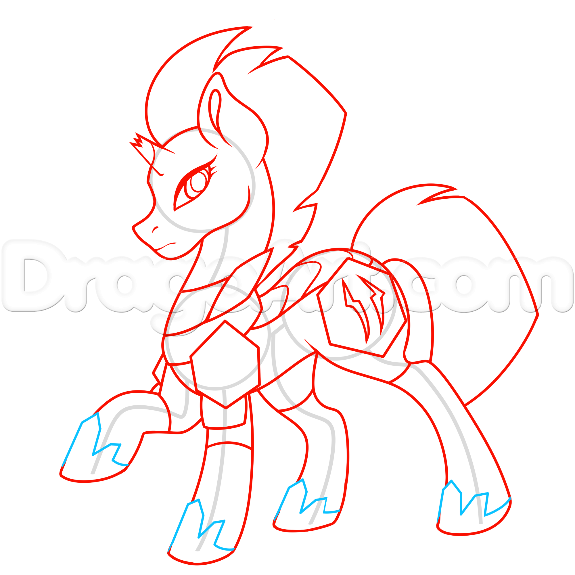 Pony Drawing at GetDrawings.com | Free for personal use Pony Drawing ...