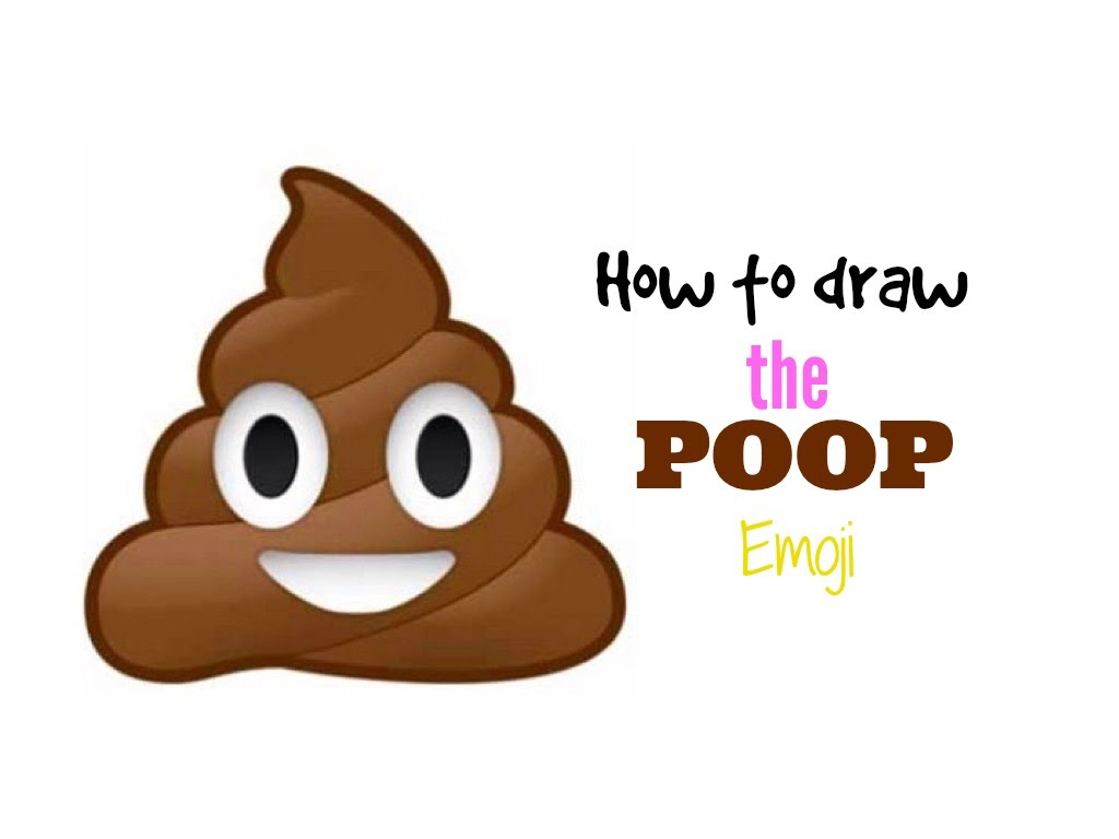 1024x768 How To Draw The Poop Emoji