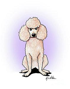 236x300 Poodle Drawings Fine Art America
