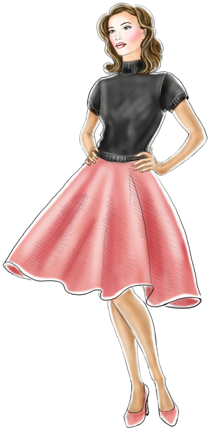 725x1463 Poodle Skirt