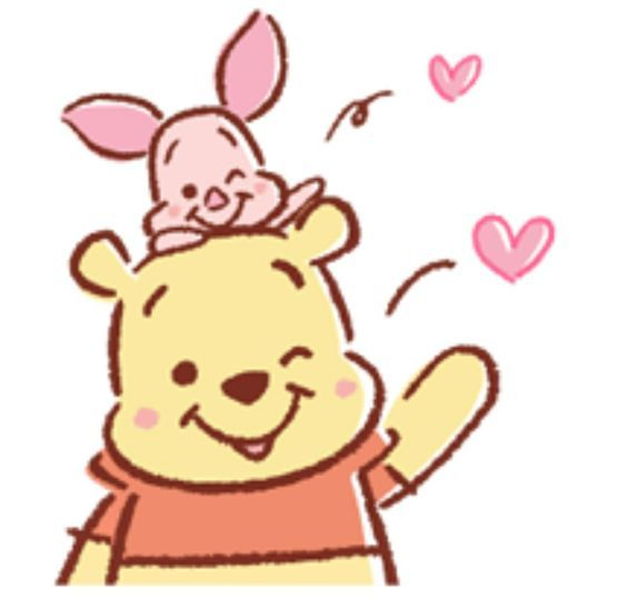 564x538 Piglet Et Pooh Mary Piglets And Pooh Bear
