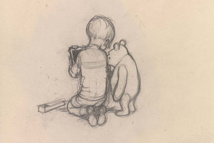 700x467 Winnie The Pooh Sketches With Tasmanian Link Dusted Off After