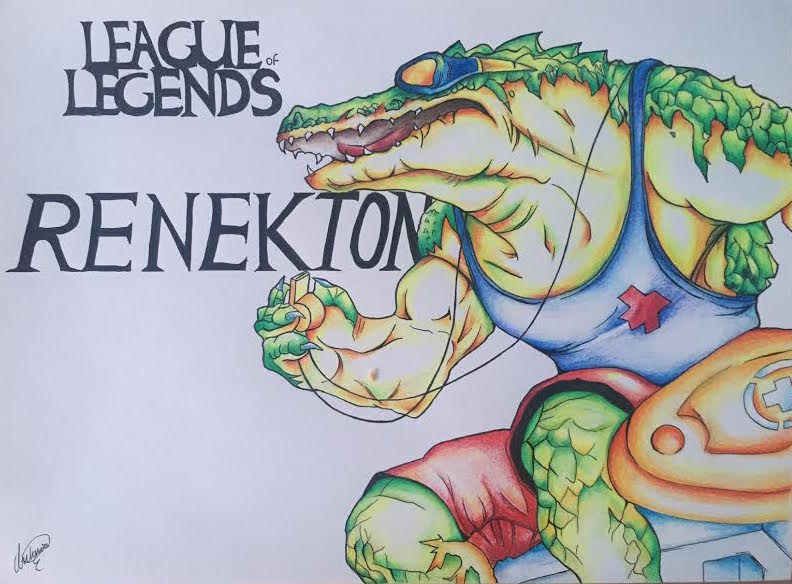 792x584 Pool Party Renekton