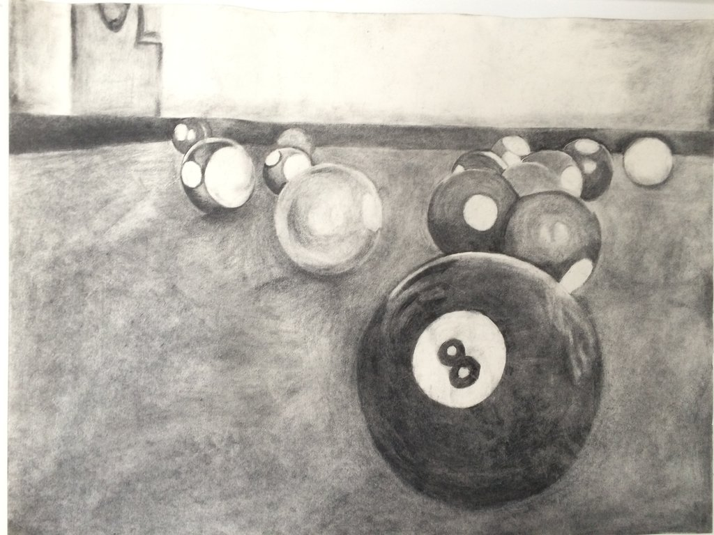1024x768 Pool Table Drawing By Contactdlean94