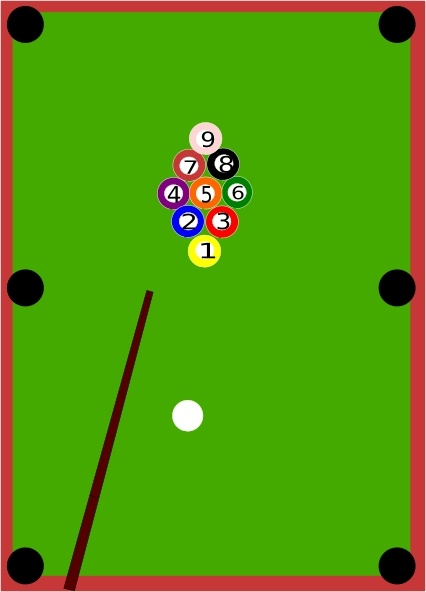 426x592 Pool Table Clip Art Free Vector In Open Office Drawing Svg ( Svg