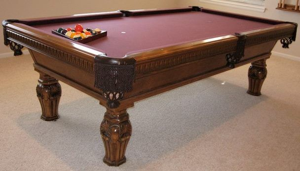 608x346 Unusual Pool Table Built By Golden West Billiards. The Customer