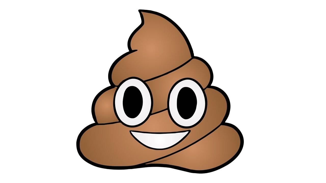 1280x720 How To Draw The Poop Emoji