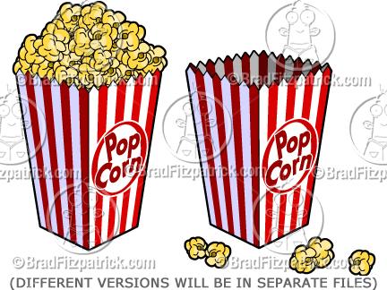 432x324 Cartoon Popcorn Clipart Popcorn And Cartoon