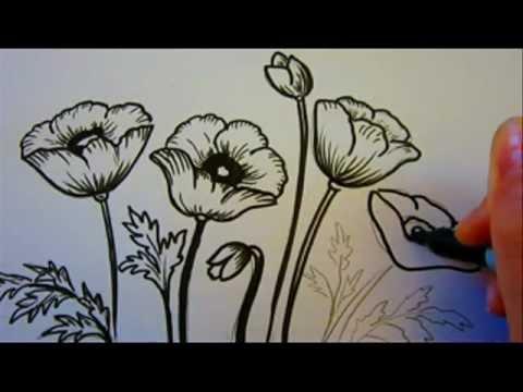480x360 Flower Tutorial