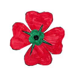 250x250 Remembrance Day Poppy