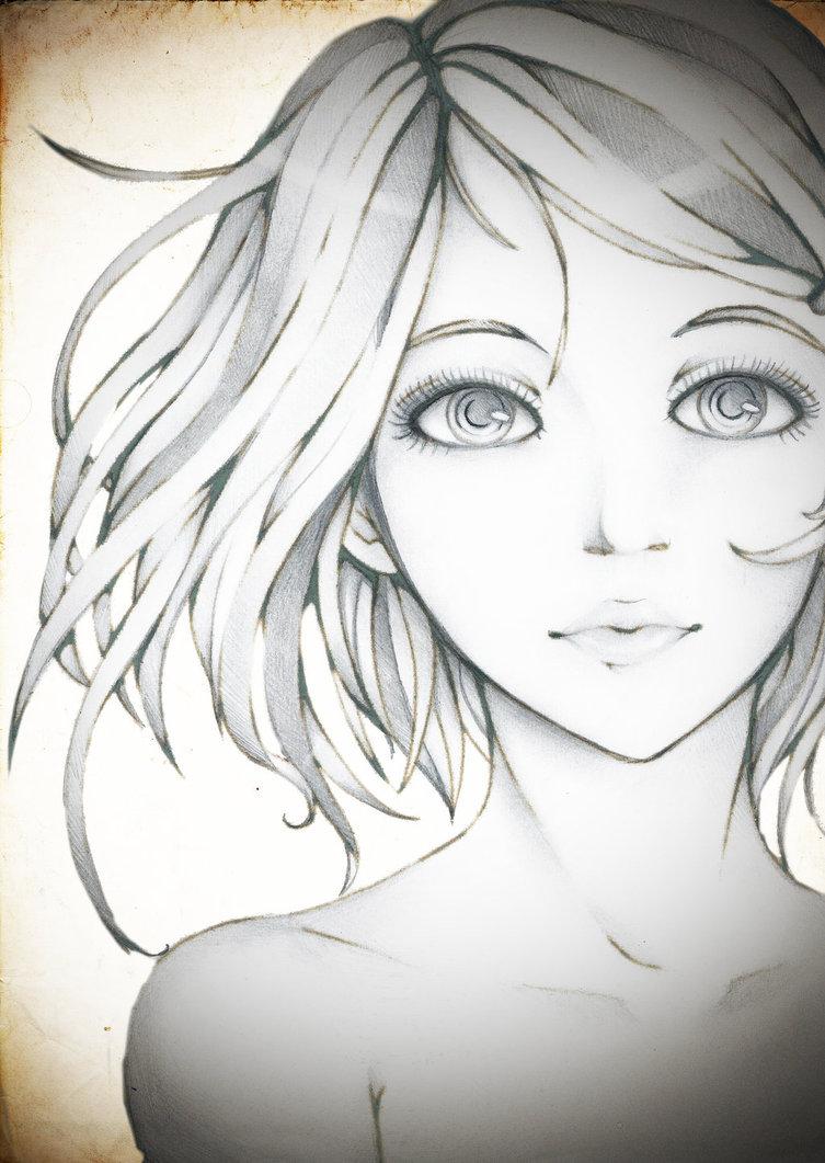 753x1061 Porcelain Doll (Pencil) By Chibi 96