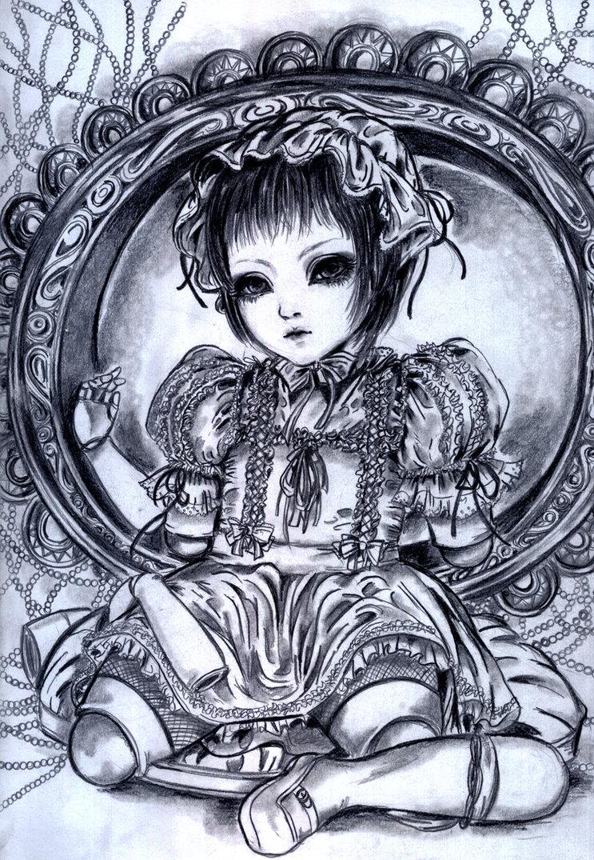 743x1075 Porcelain Doll By Omana Shinya