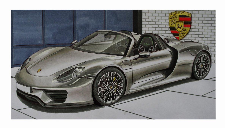 1186x674 Porsche 918 Spyder By Stephen59300