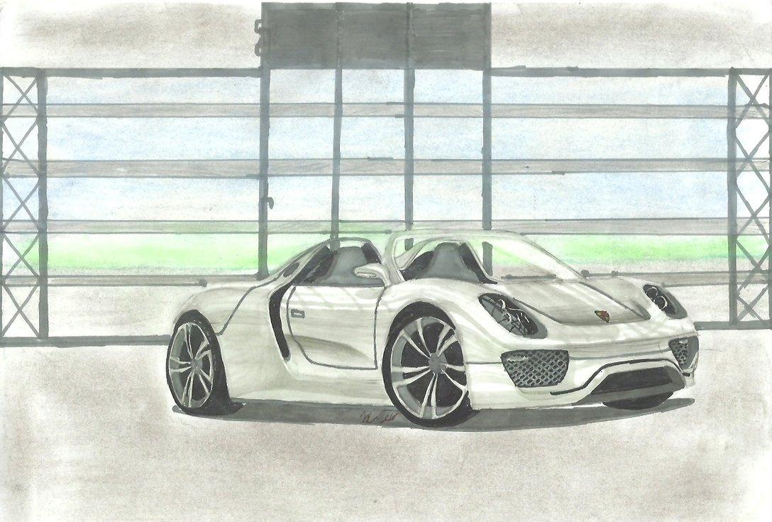 1088x735 Porsche 918 Spyder By Teofilodesign